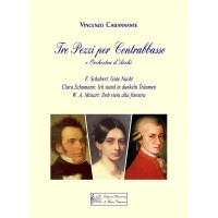 Three Pieces for Double Bass and String Orchestra, by Vincenzo Carannante