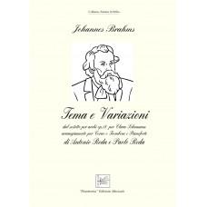 Tema e variazione op.18 di J. Brahms, arr. for Corno o Trombone and Pianoforte by Antonio e Paolo Reda - Audio