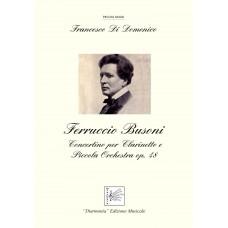 Ferruccio Busoni Concertino for Clarinet and small Orchestra Op. 48, by Francesco Di Domenico