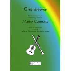 Greensleeves, for Clarinet and Guitar by M. Caturano