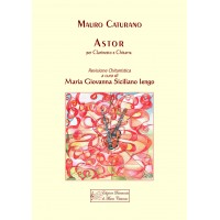 Astor, for Clarinet and Guitar by Mauro Caturano