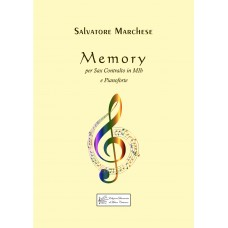 Memory, for Sax alto and Piano by Salvatore Marchese